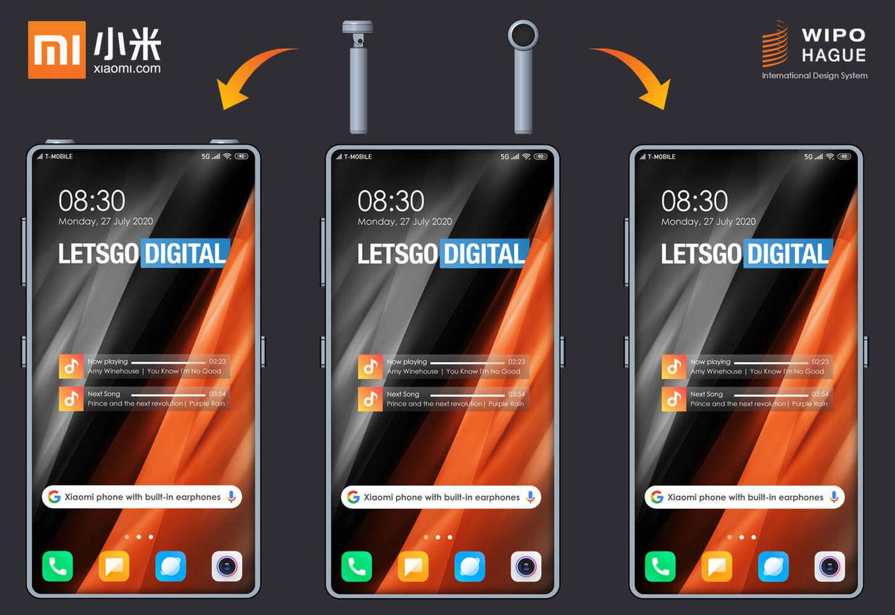 Xiaomi vill förvara hörlurarna i mobilen