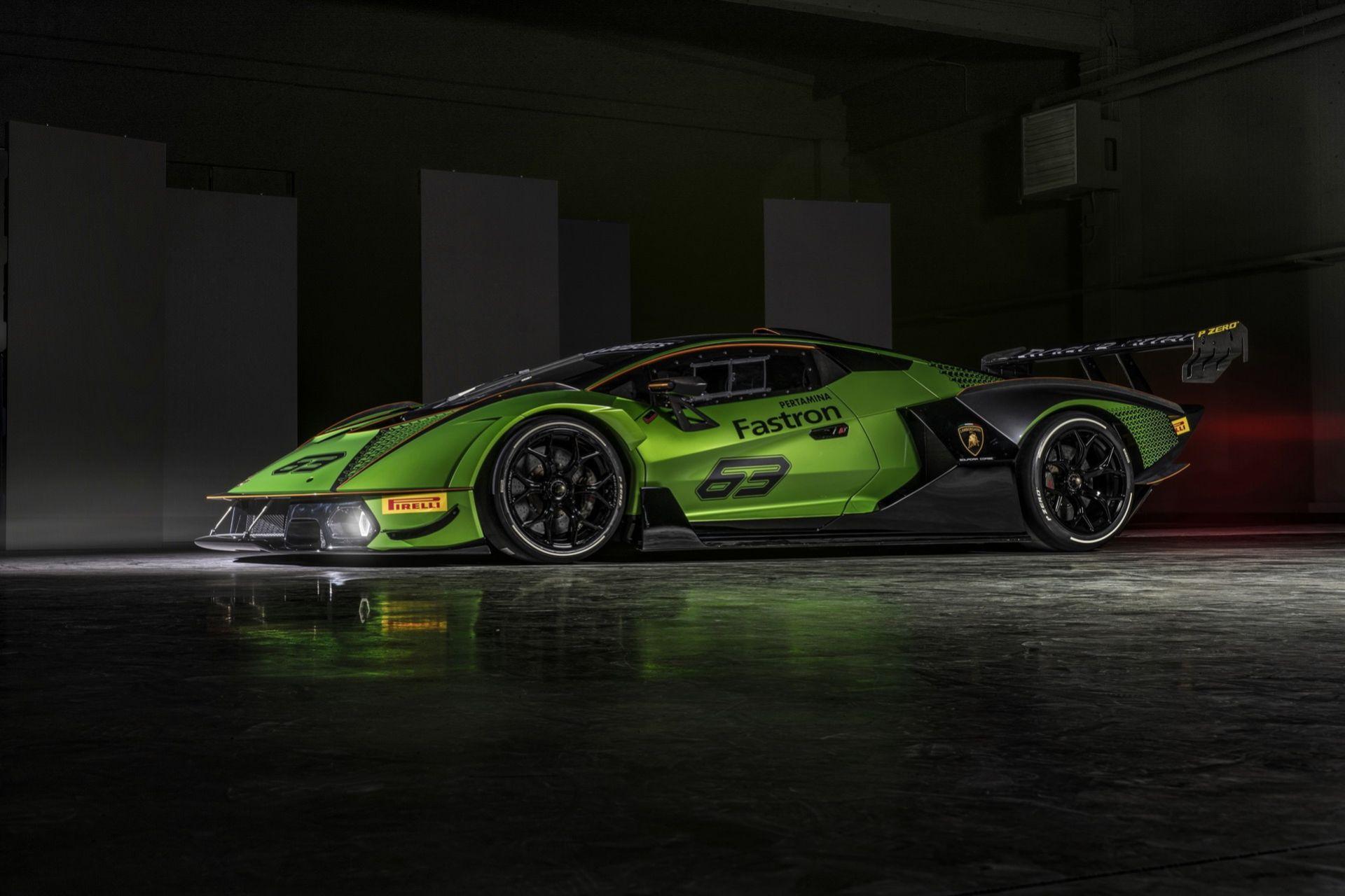 Säg hej till Lamborghini Essenza SCV12