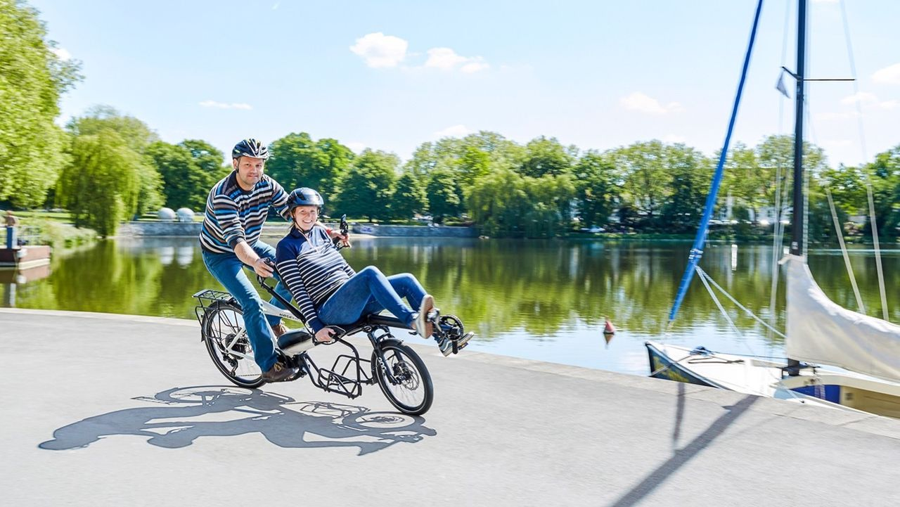 Hase uppdaterar tandemcykel Pino