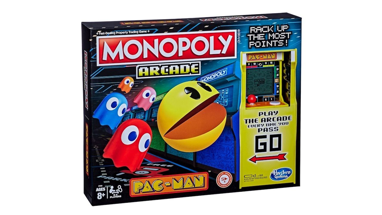 Pac-man släpps i monopolversion
