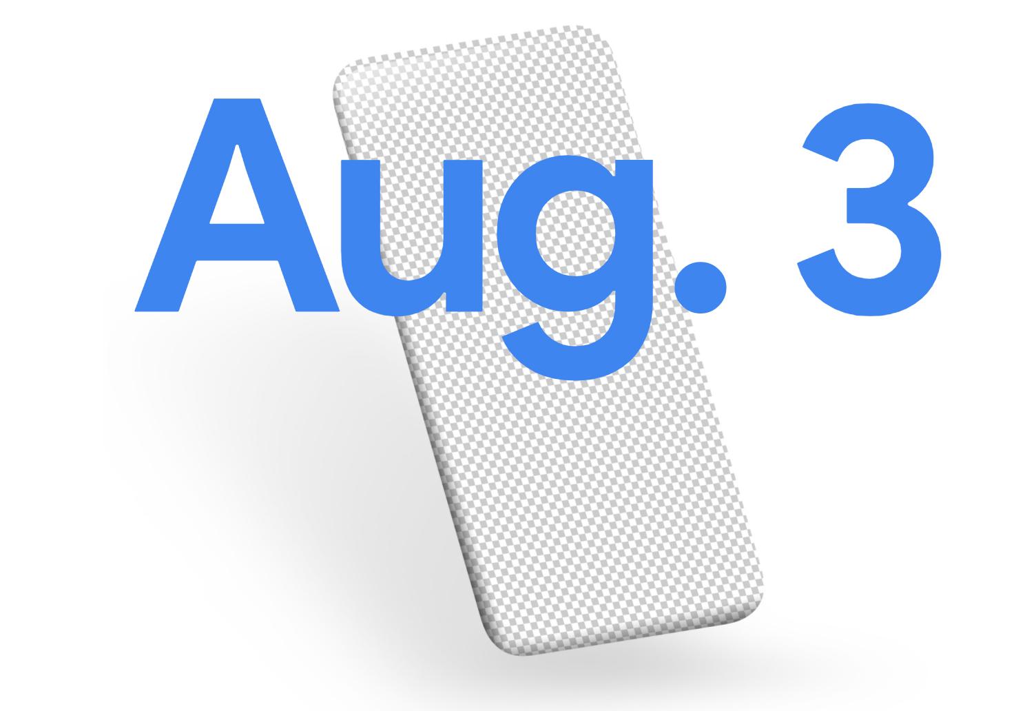 Pixel 4A presenteras 3 augusti Google har släppt teaser för kommande telefon