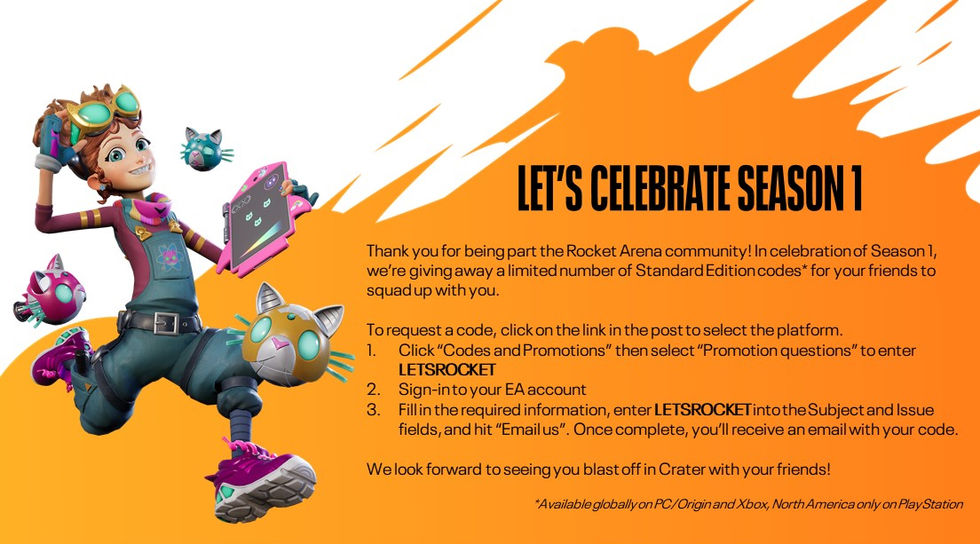 Spela Rocket Arena