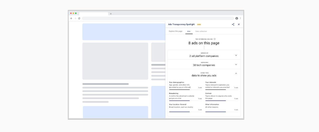 Google släpper Chrome-tillägg för annonsspårning