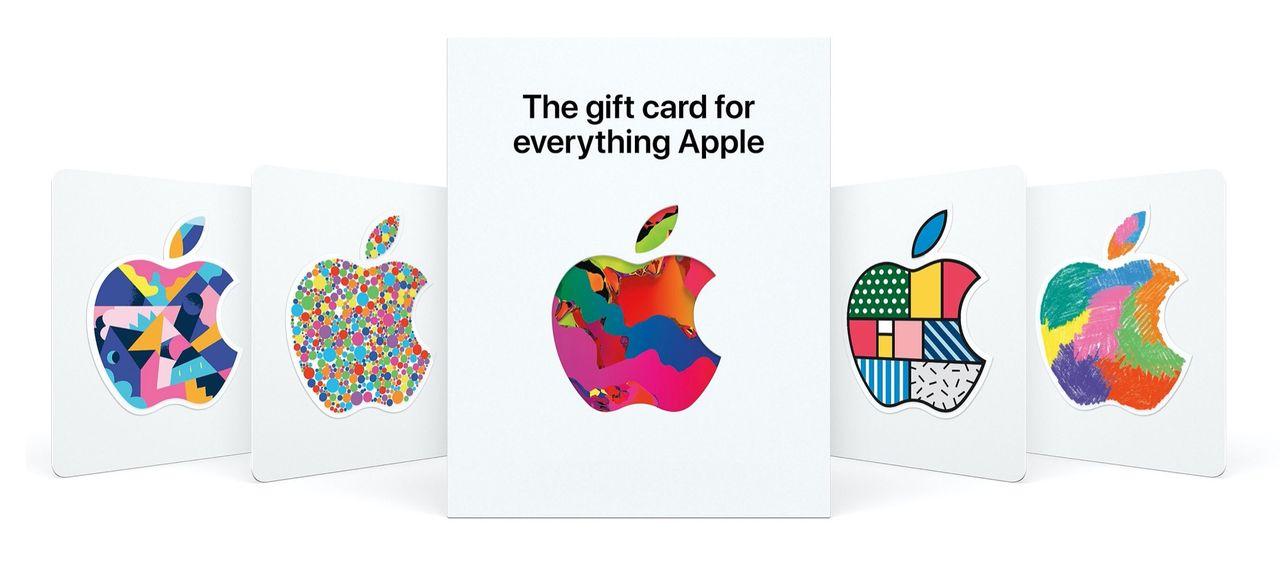 Apple slår ihop sina presentkort