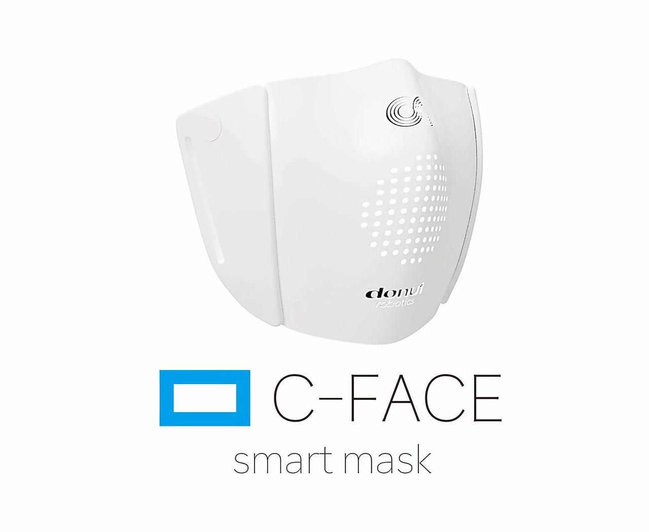 Smart ansiktsmask kan översätta åtta olika språk