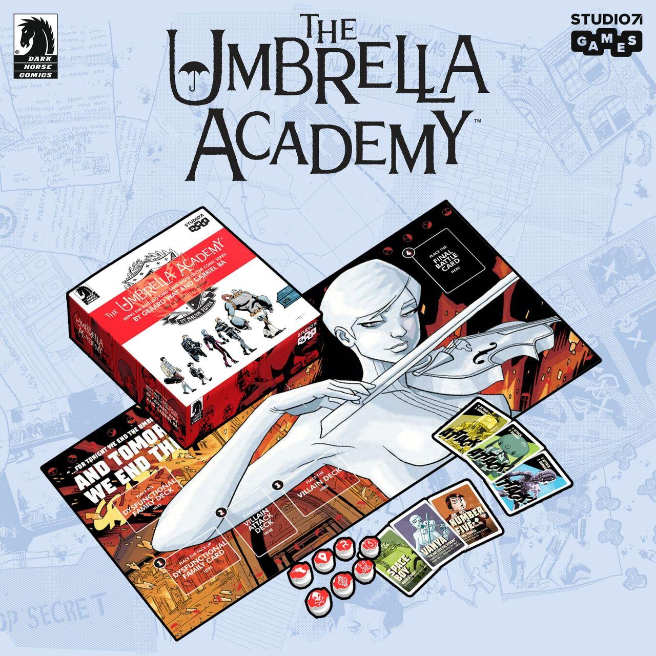The Umbrella Academy blir kortspel