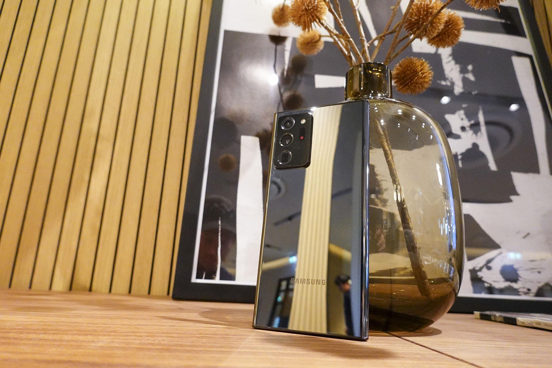 Samsungs nya Note 20 Ultra är en ordentlig finputsning