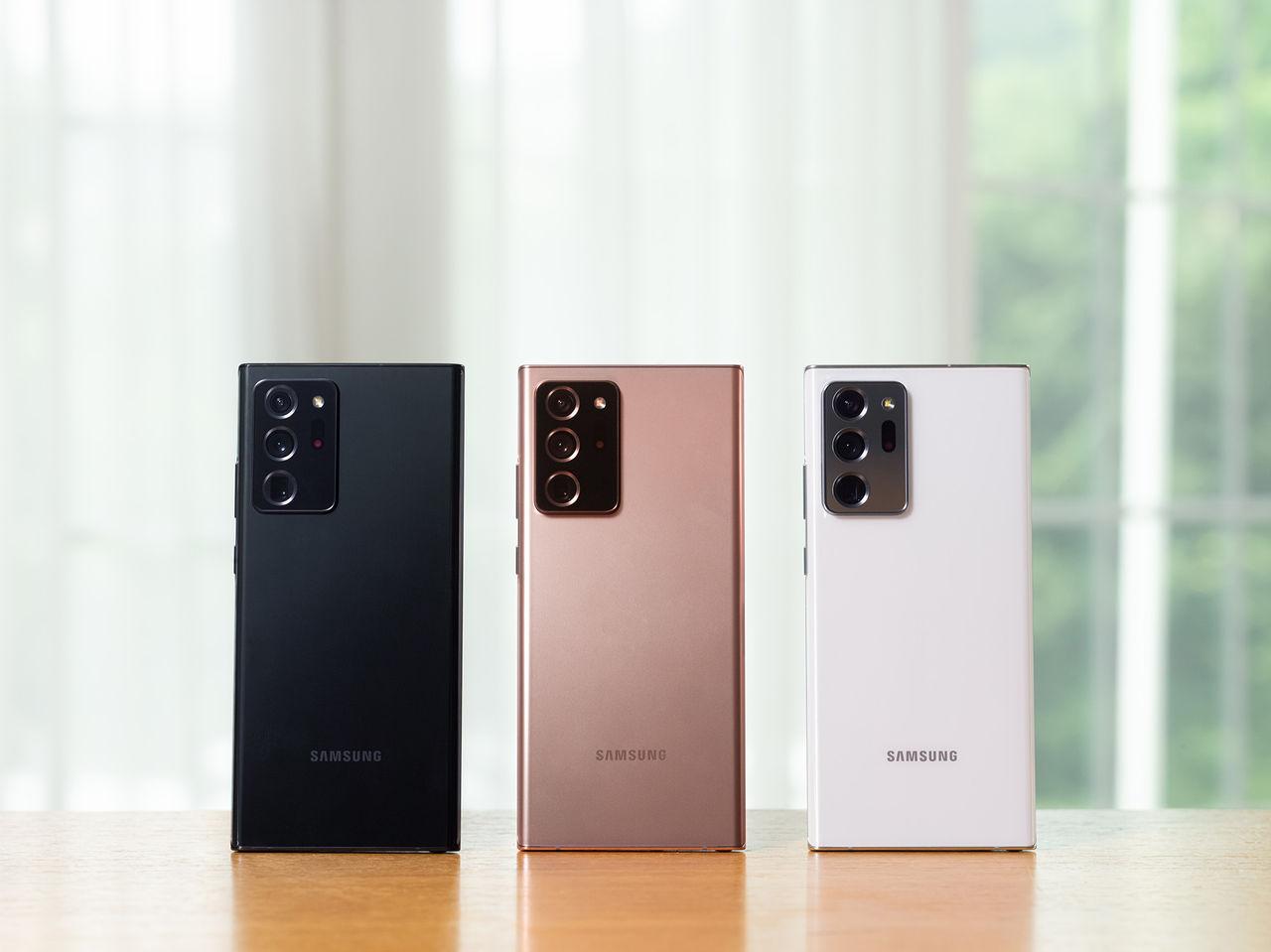 Samsung presenterar Note 20 och Note 20 Ultra