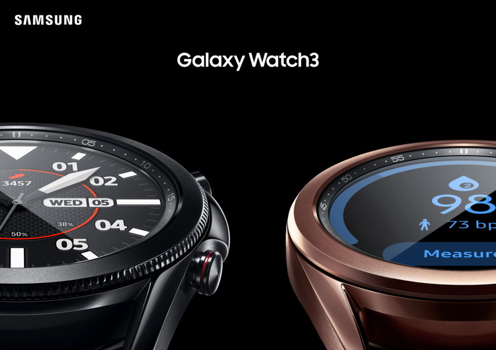 Samsung presenterar Galaxy Watch3