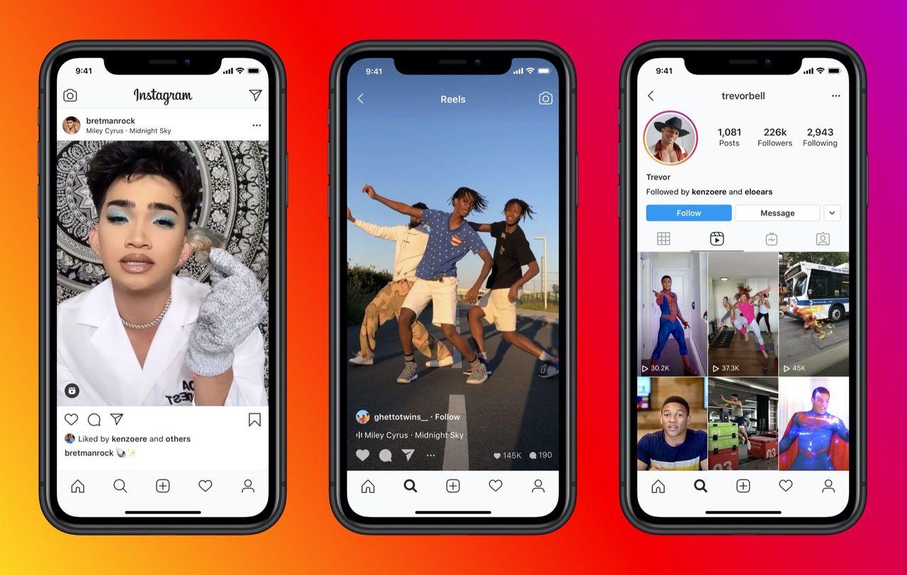 Instagram lanserar Reels globalt
