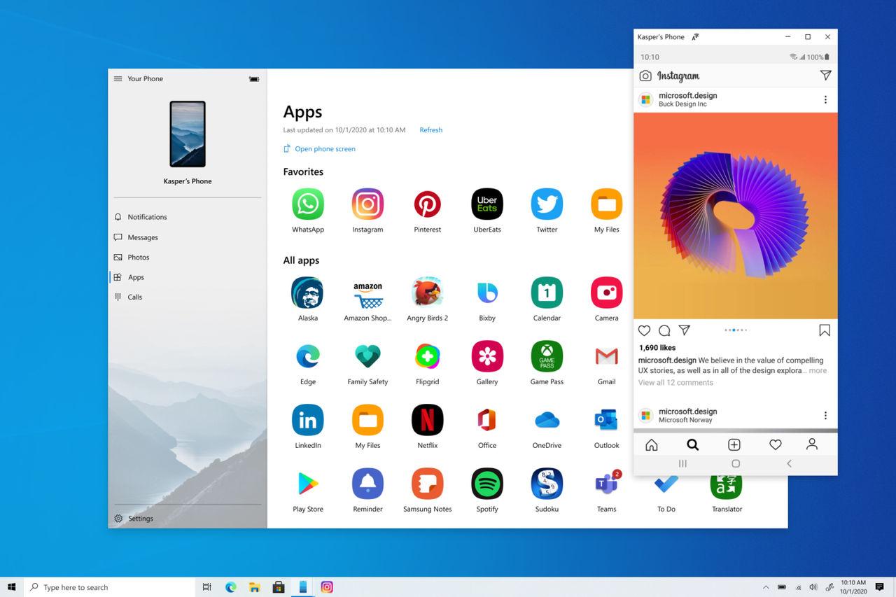 Android-appar kommer till Windows 10