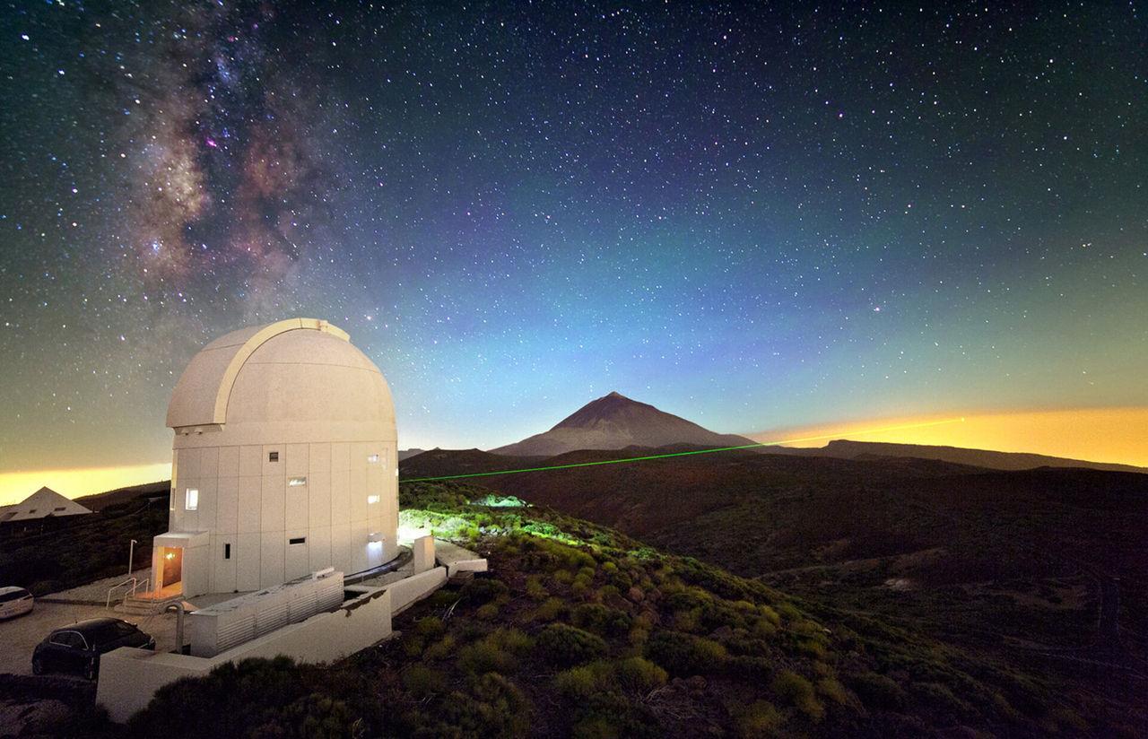Nu kan forskare följa skrot i rymden med laser i dagsljus