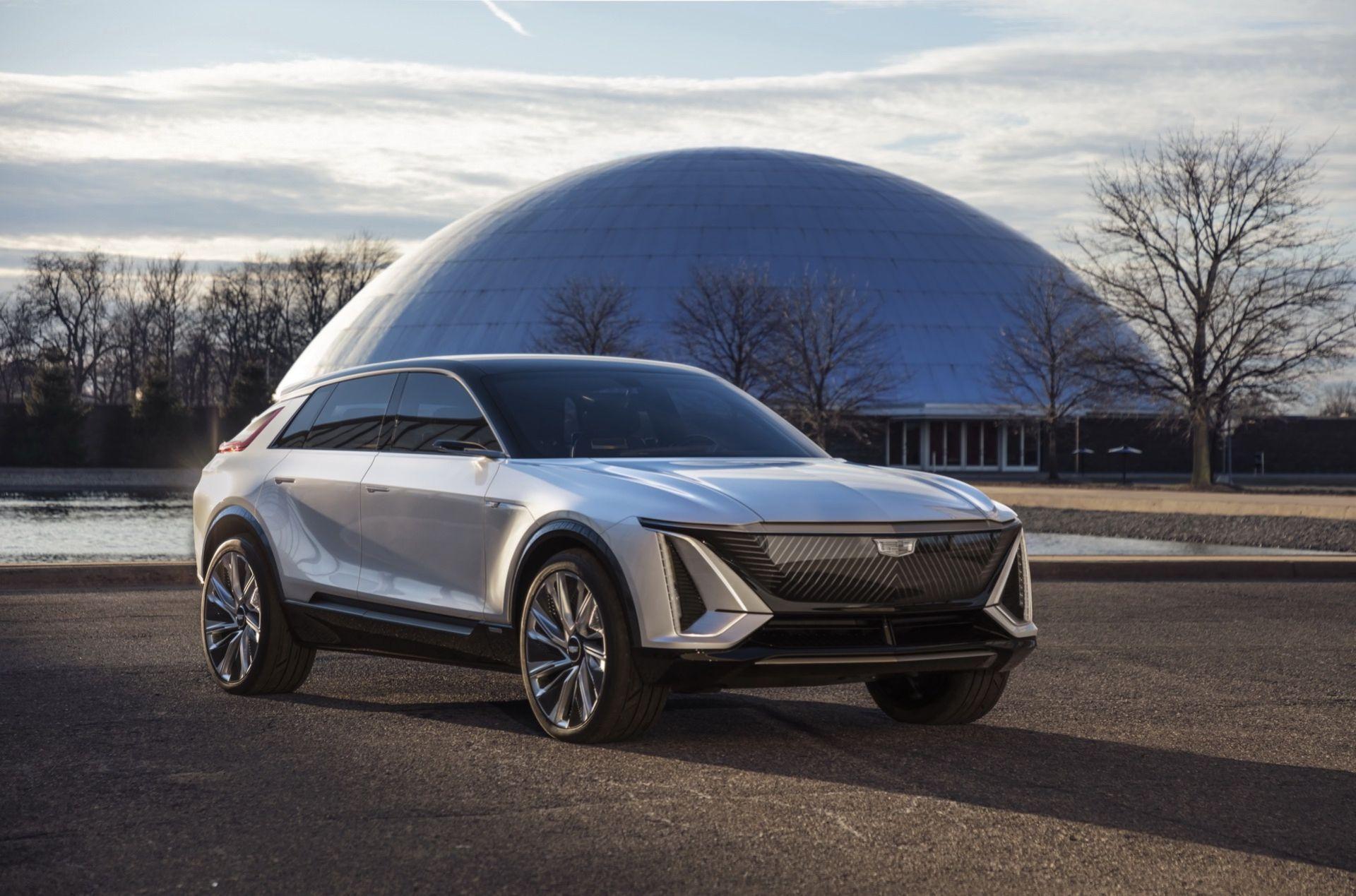 Cadillac presenterar äntligen konceptet Lyriq