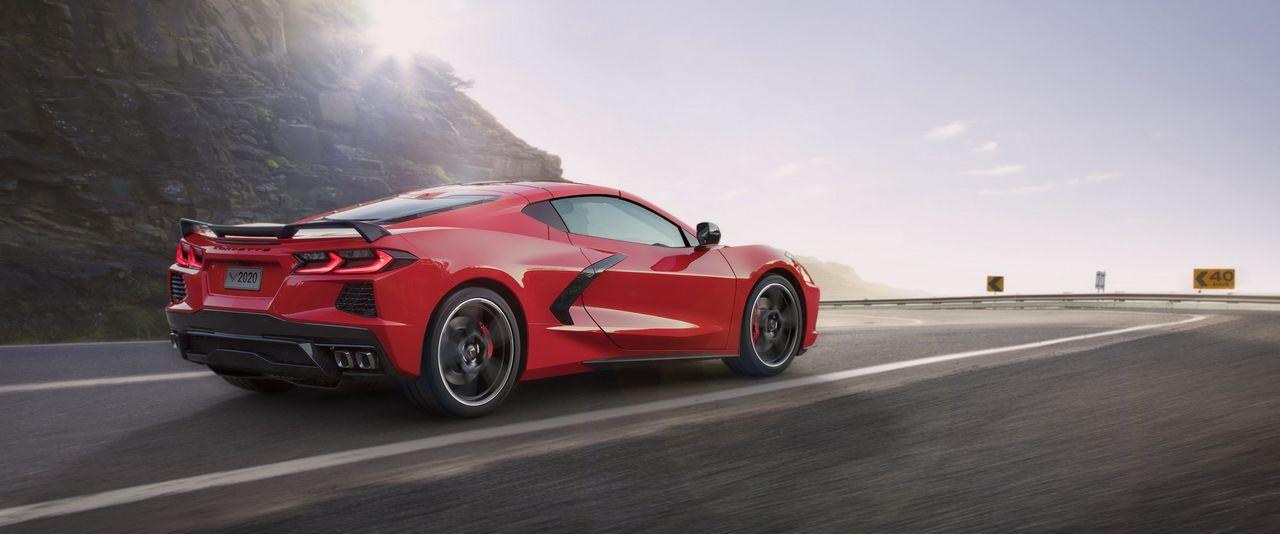 Eldriven Corvette som toppar 322 km/h på gång