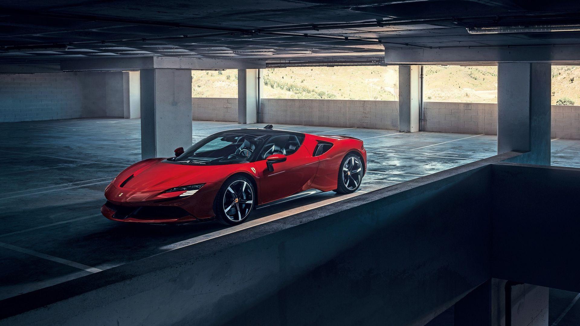 Produktionsstarten av Ferrari SF90 Stradale försenas