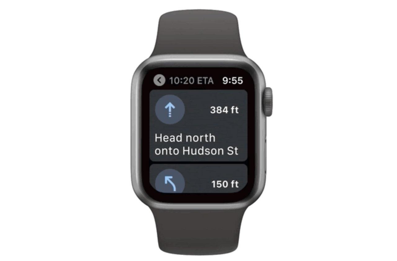Google Maps kommer tillbaka till Apple Watch