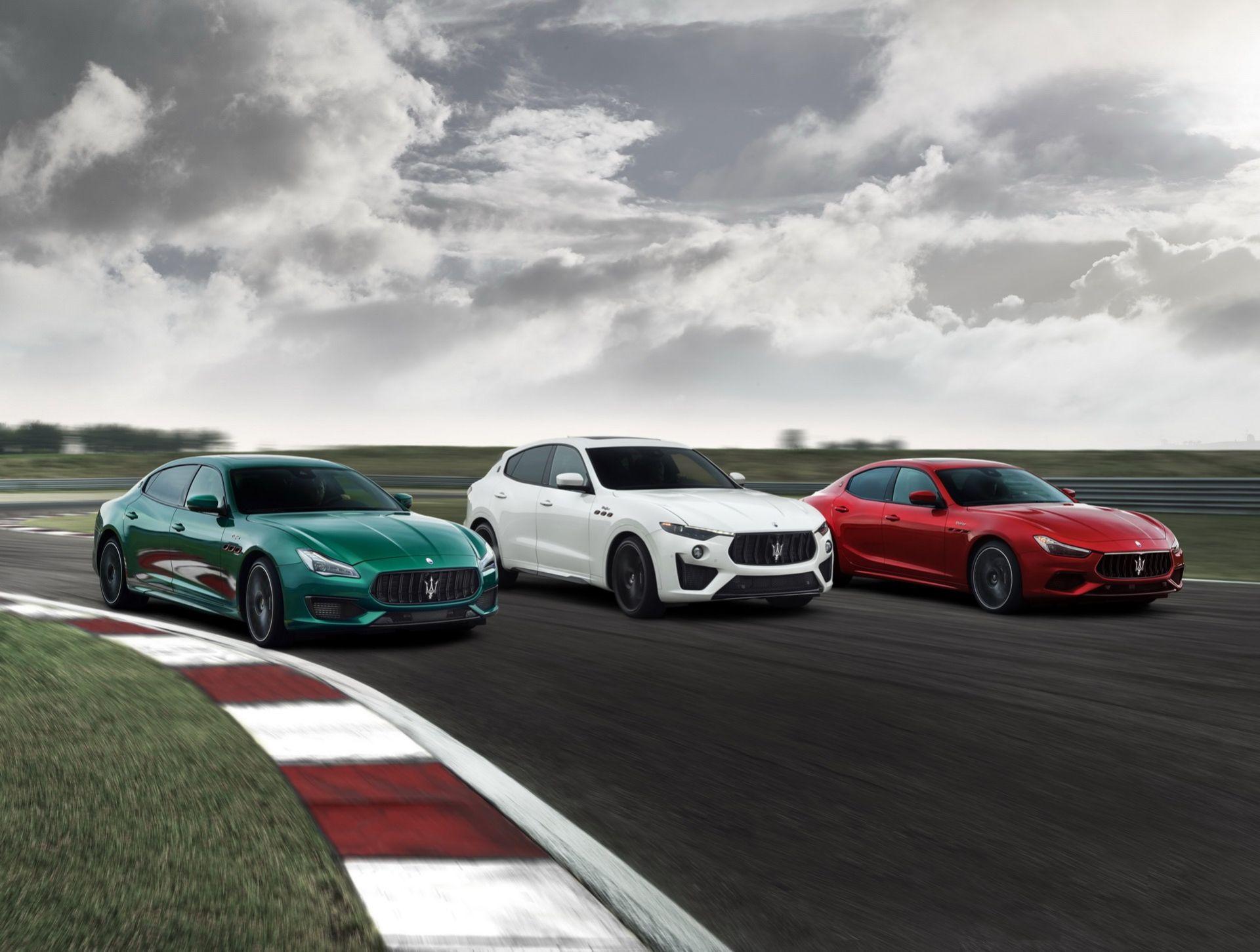 Maserati Ghibli och Quattroporte Trofeo är här