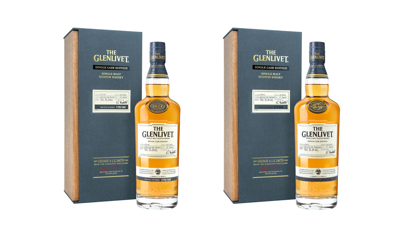 Två nya single casks från The Glenlivet