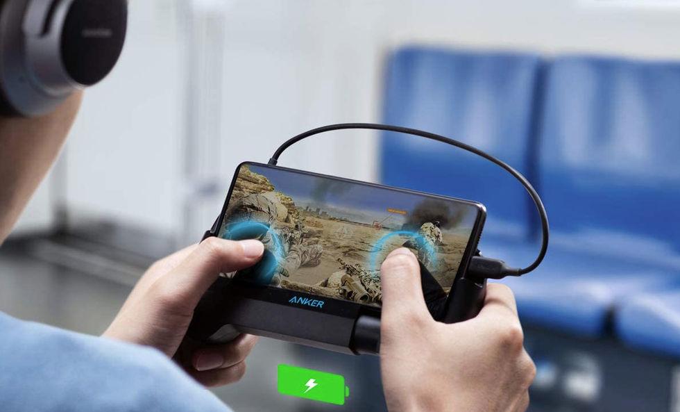 Anker PowerCore Play 6K är ett powerpack för mobilspelaren