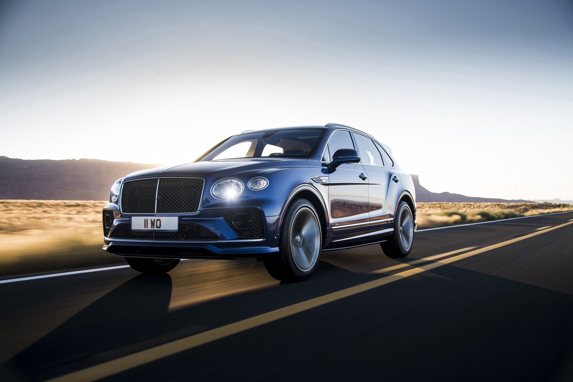 Det här är uppdaterade Bentley Bentayga Speed