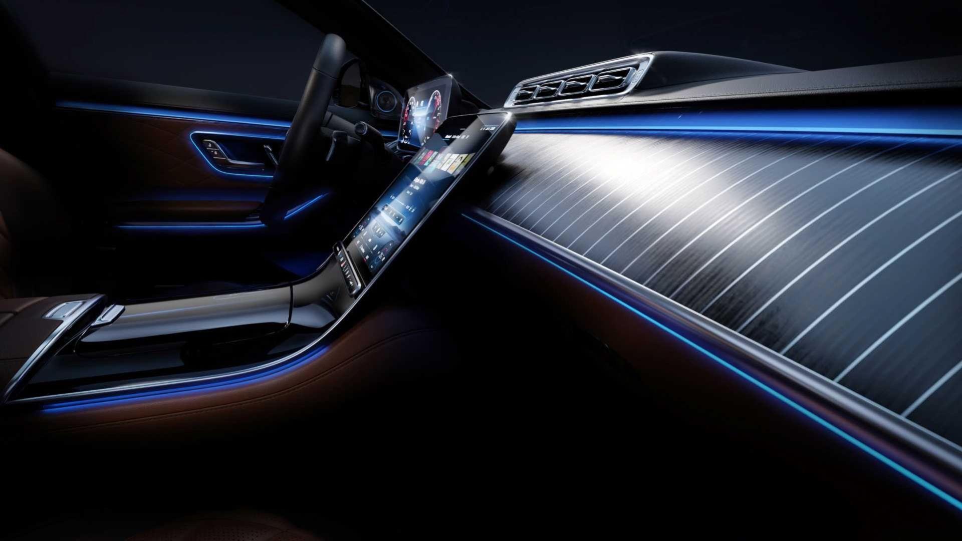 Mercedes visar mer av insidan i nya S-Klass
