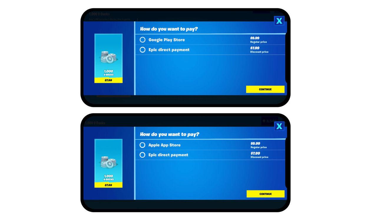 Fortnite får billigare betalsätt på mobiler