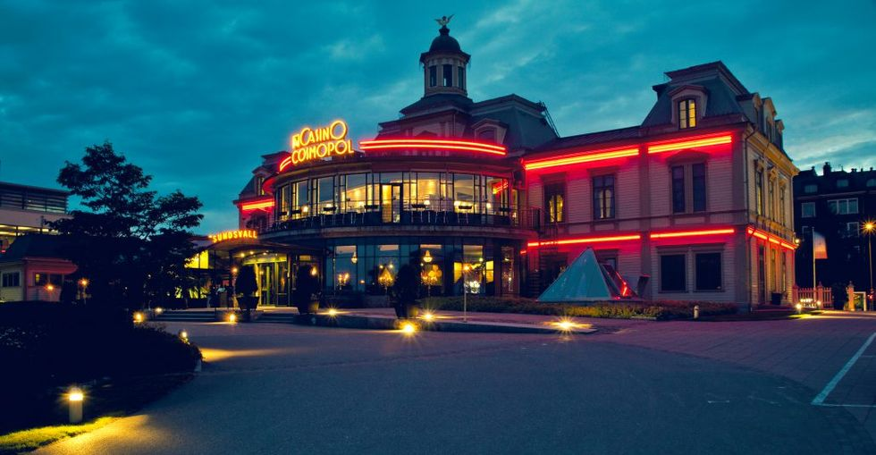 Casino Cosmopol i Sundsvall lägger ner