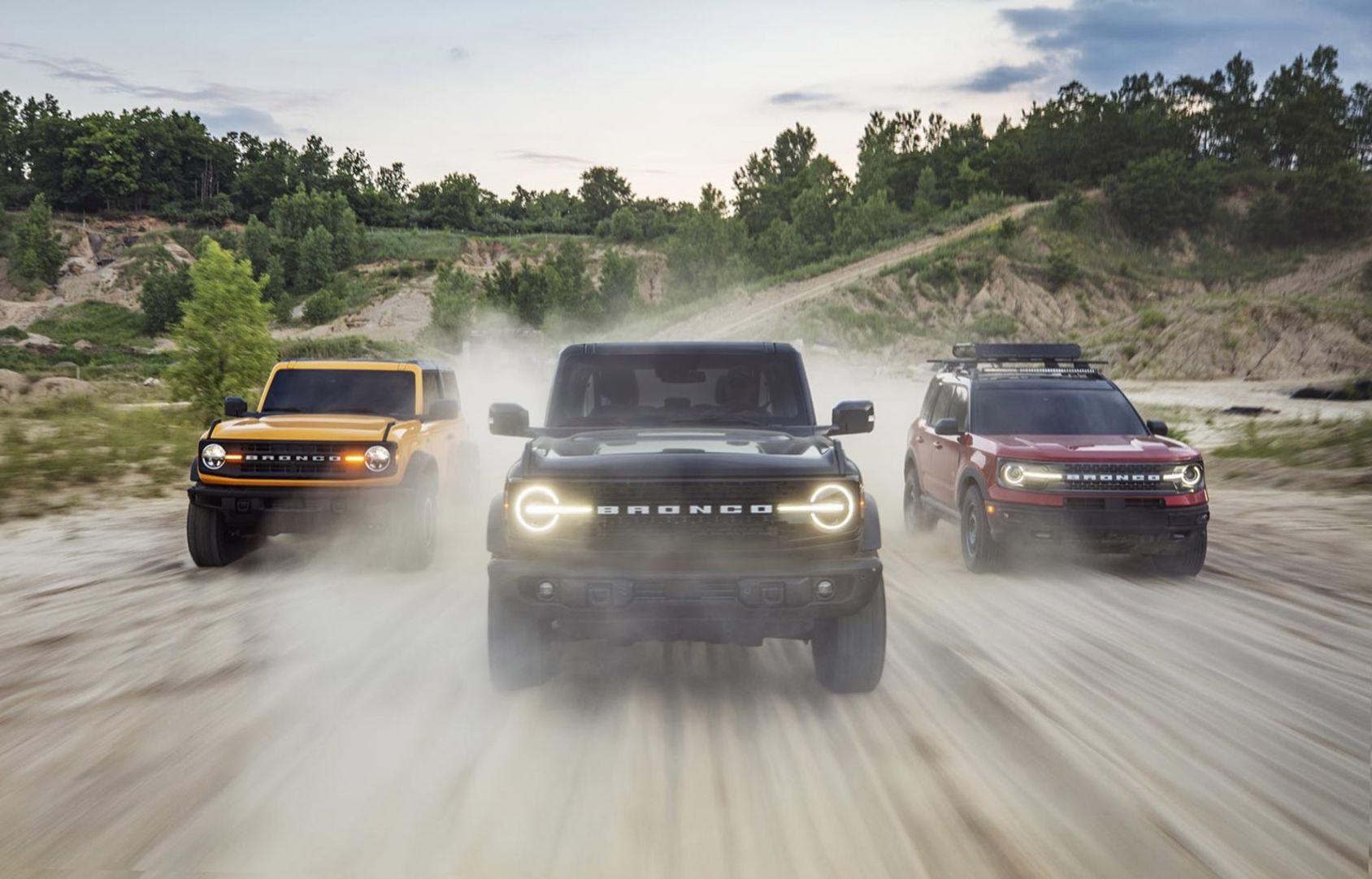 Över 165.000 personer har redan reserverat nya Ford Bronco