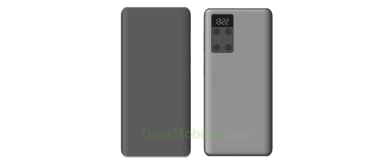 Huawei-patent visar kameramodul med liten skärm