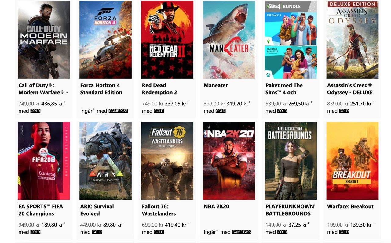 Xbox kör ultimat spelrea