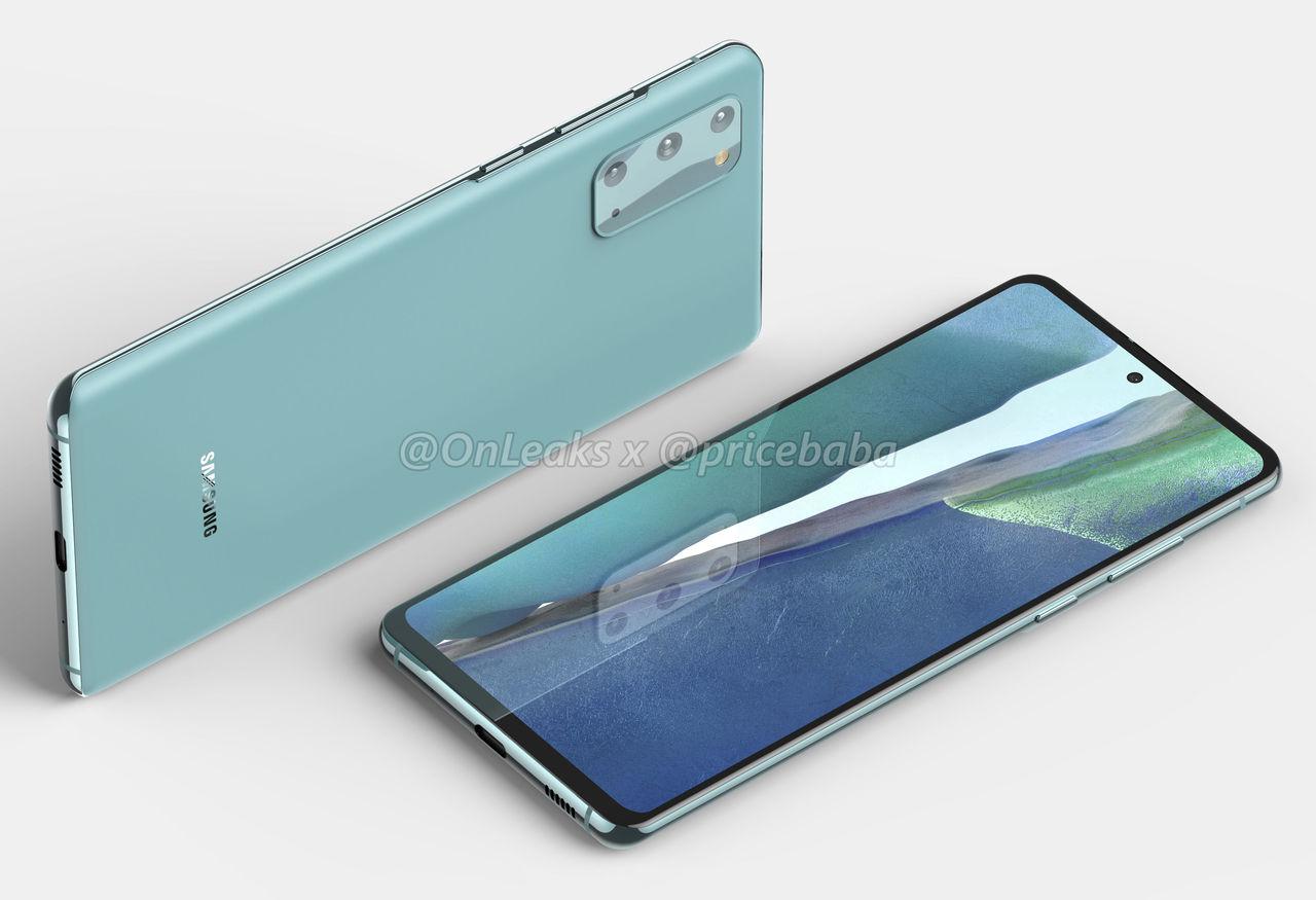 Samsung Galaxy S20 Fan Edition läcker