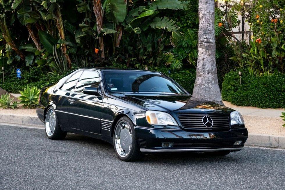 Köp Michael Jordans gamla Mercedes