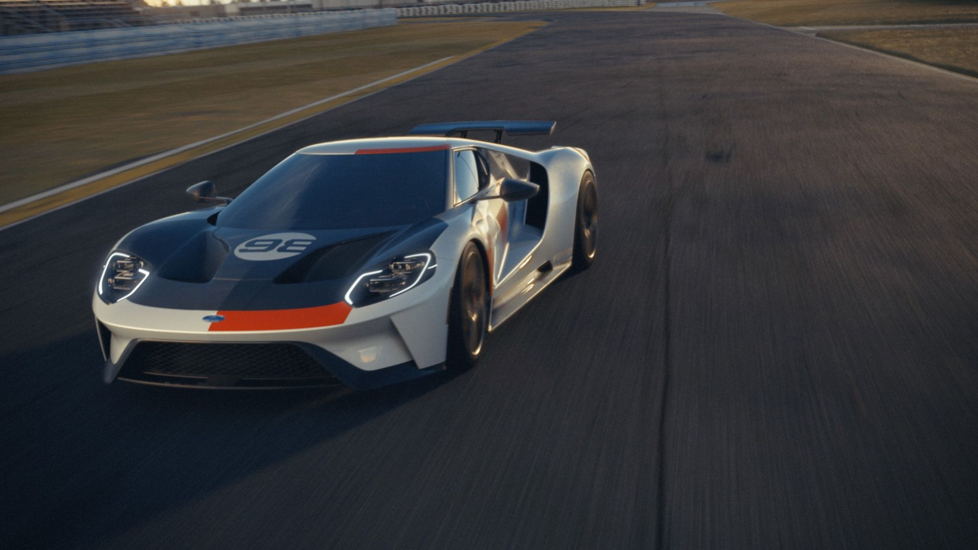 Ford hyllar Ken Miles seger på Daytona