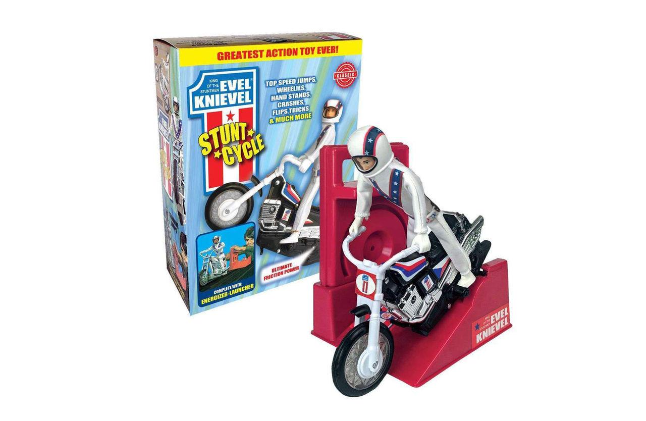 Klassisk Evel Knievel-leksak till salu igen