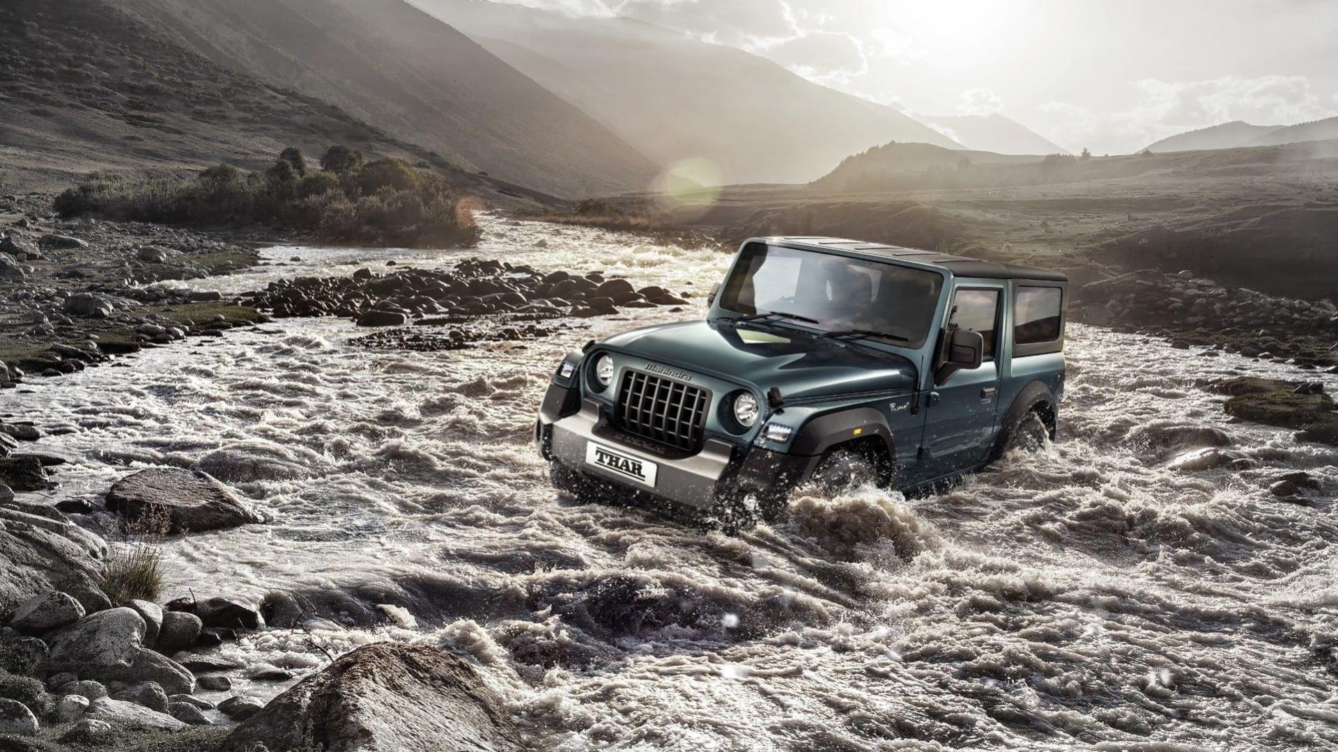 Mahindra uppdaterar sin Jeep Wrangler-kopia