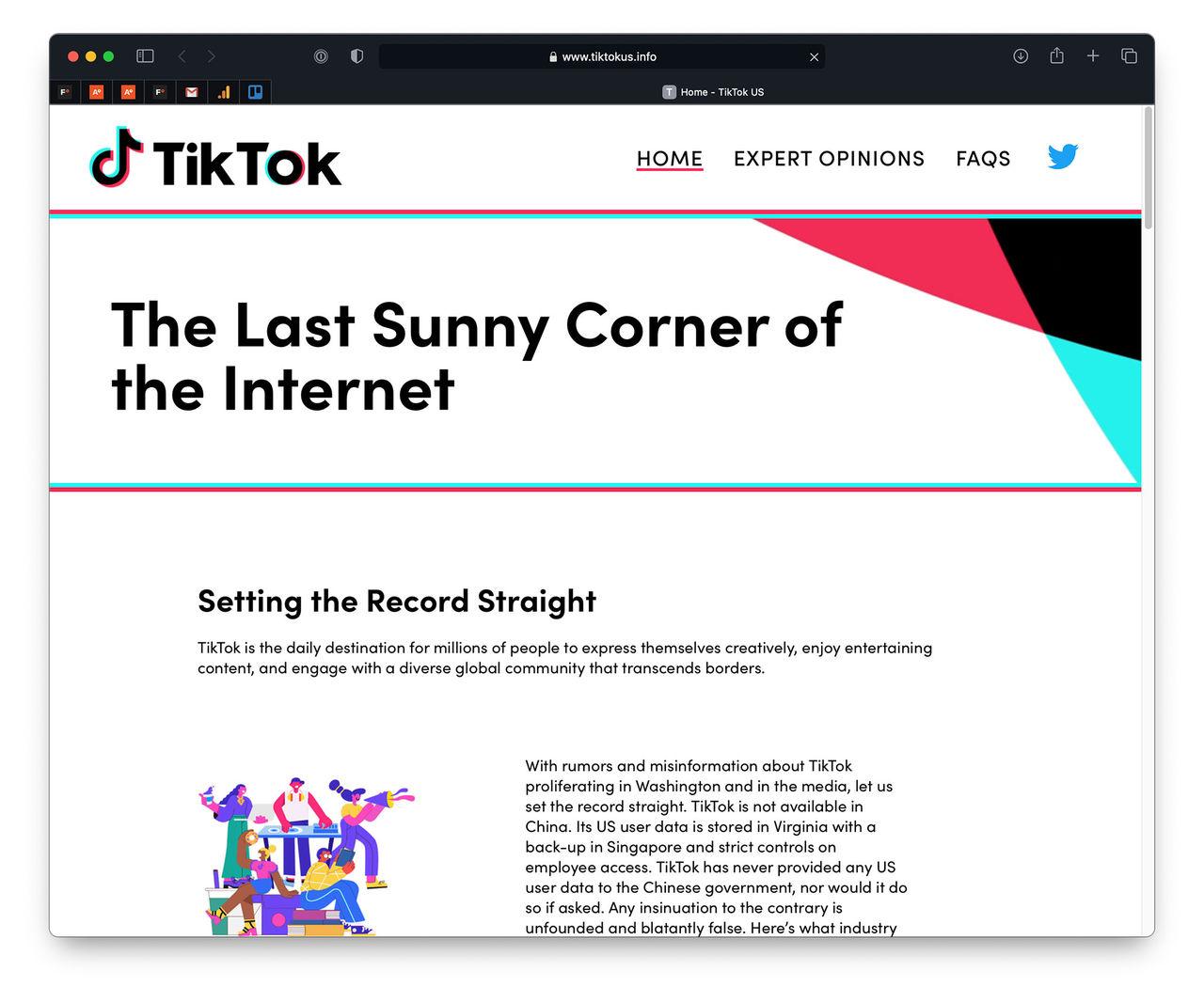 TikTok vill berätta sin sida av saken