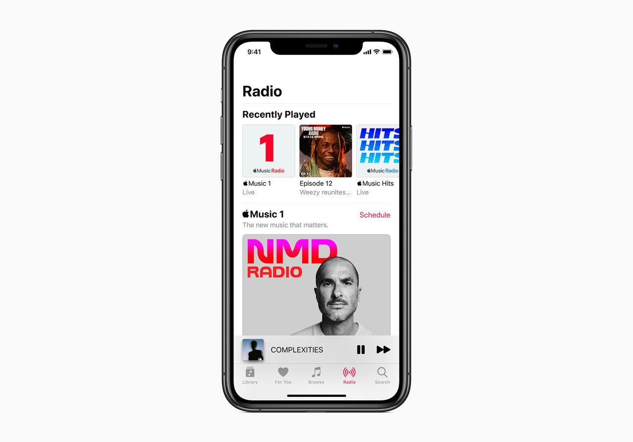 Apple startar två nya radiokanaler