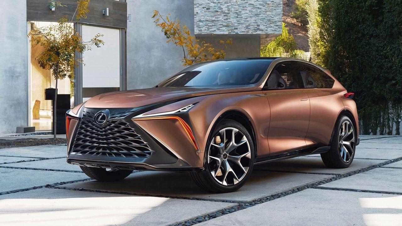 Lexus varumärkesskyddar namnet RZ 450e