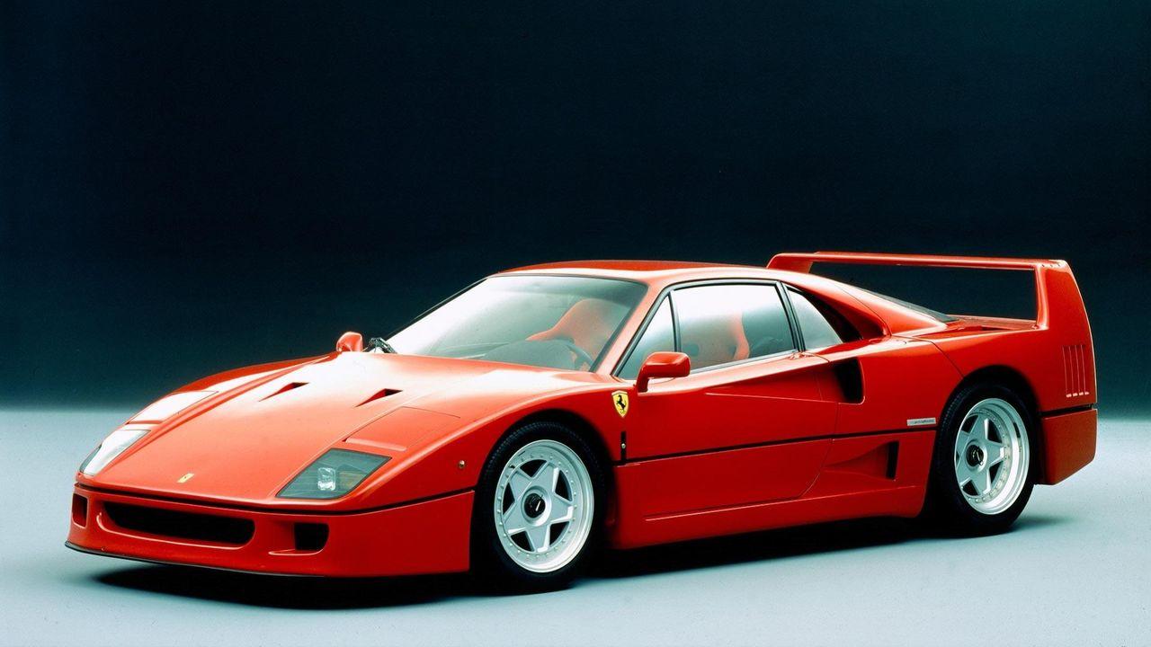 Special-Ferrari inspirerad av F40 presenteras snart