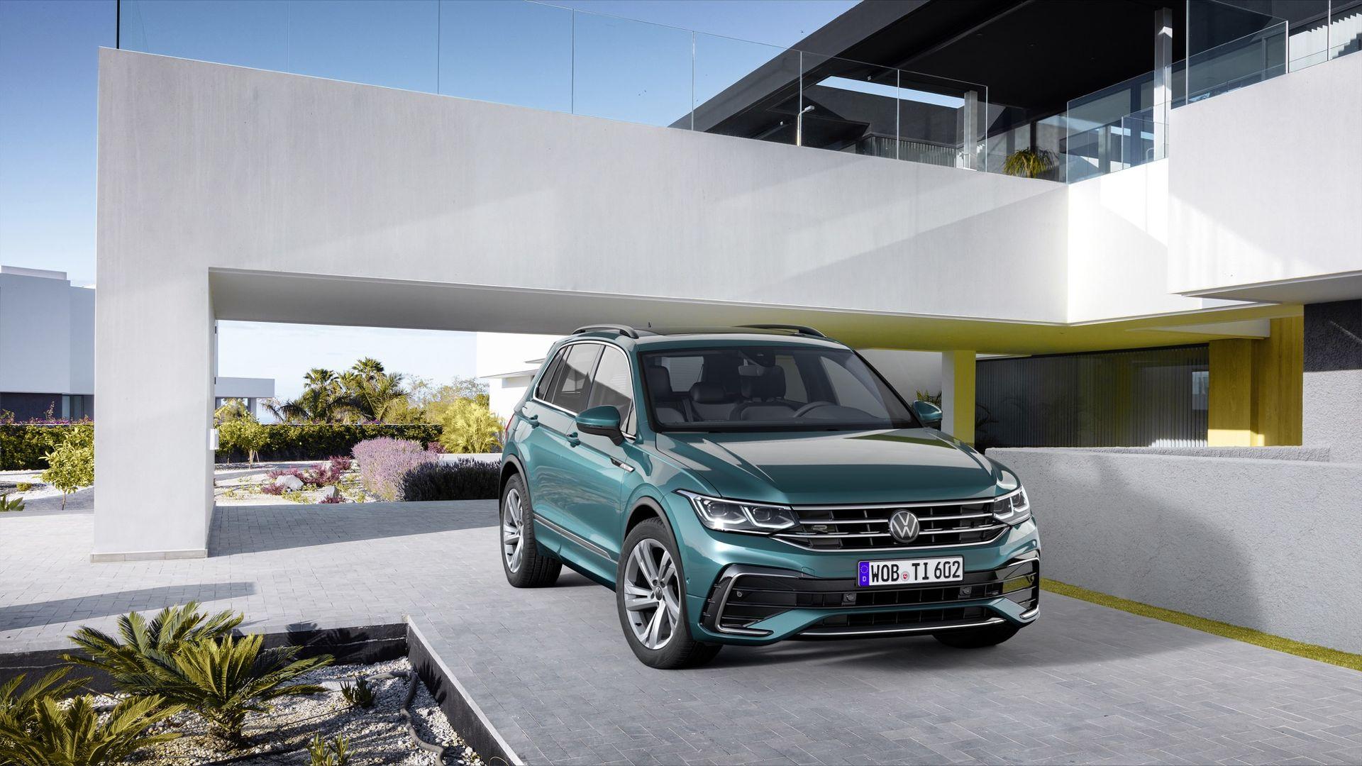 Nu kan du beställa nya Volkswagen Tiguan