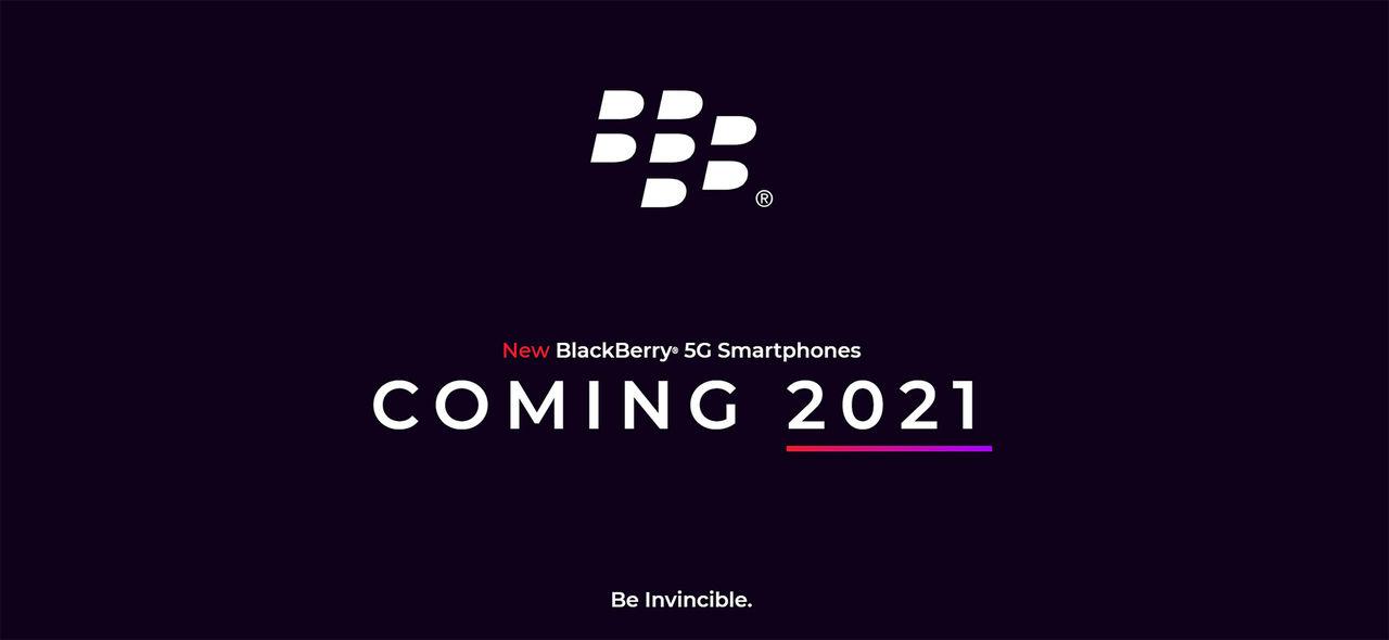 Blackberry återvänder nästa år med 5G-lur