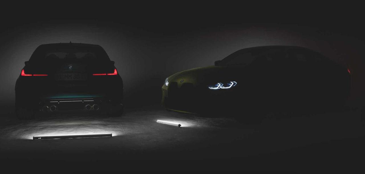 Nya BMW M3 och M4 presenteras den 23 september