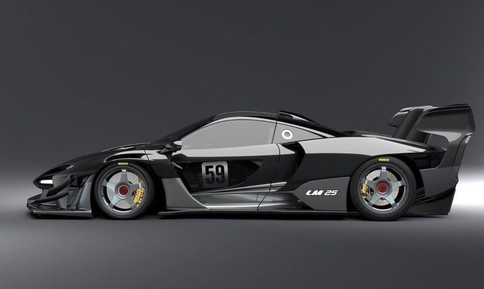 Lanzante visar specialversioner av McLaren-modeller