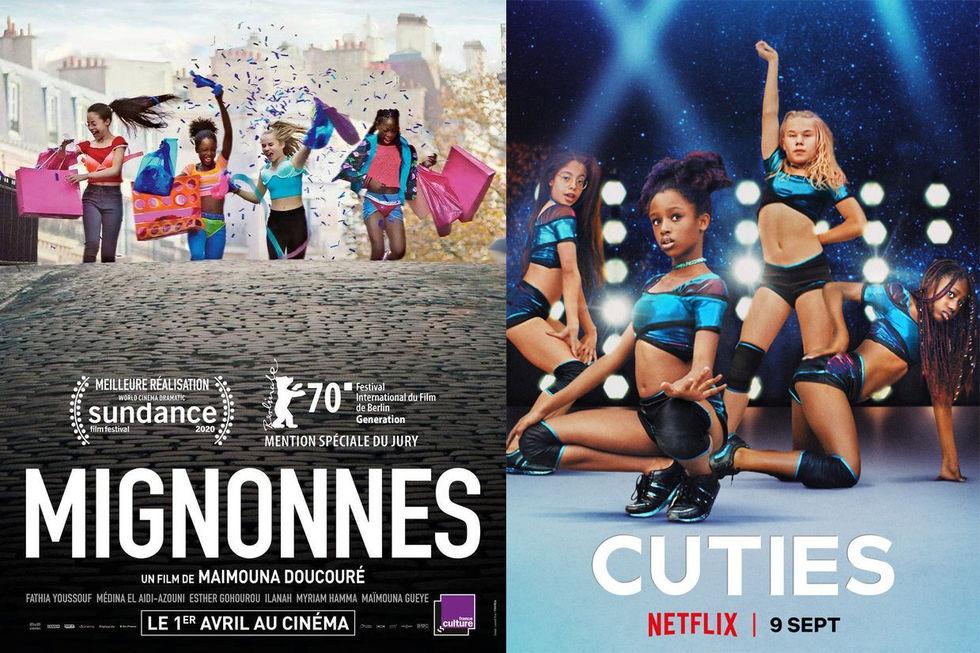 Netflix ber om ursäkt för opassande poster för Cuties
