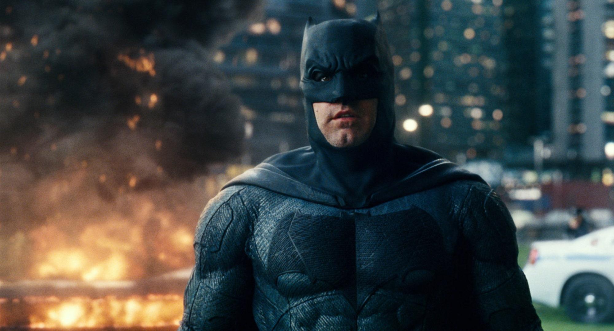 Ben Affleck och Michael Keaton hoppar på Flash-film Dubbel-Batman!