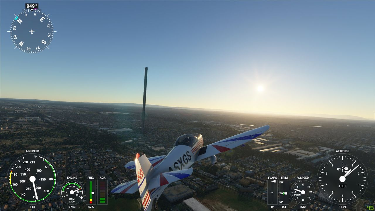 Stavfel bakom världens högsta byggnad i Flight Simulator
