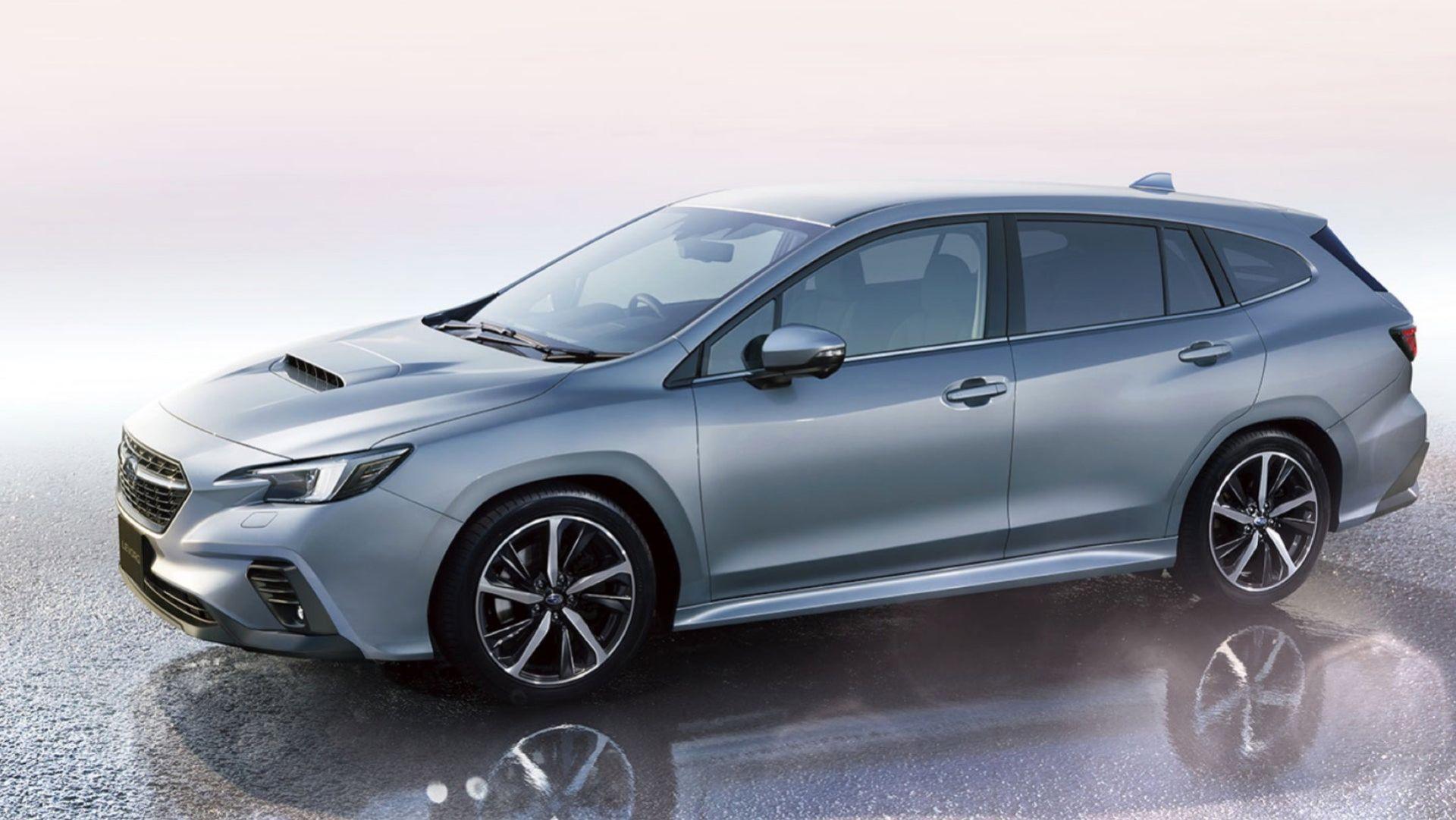 Subaru presenterar nya Levorg