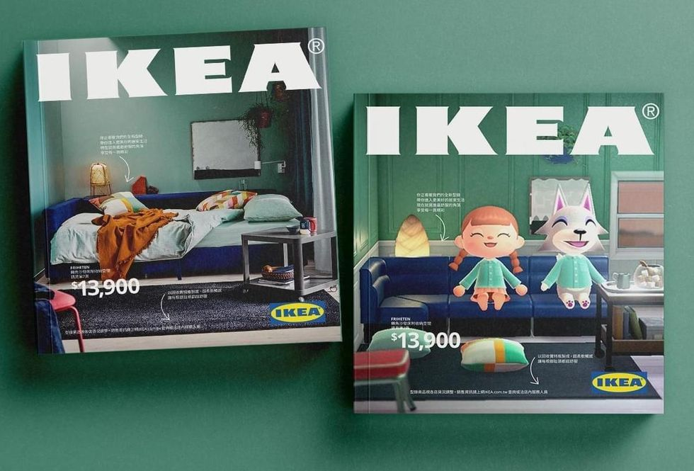 IKEA återskapar sin katalog i Animal Crossing