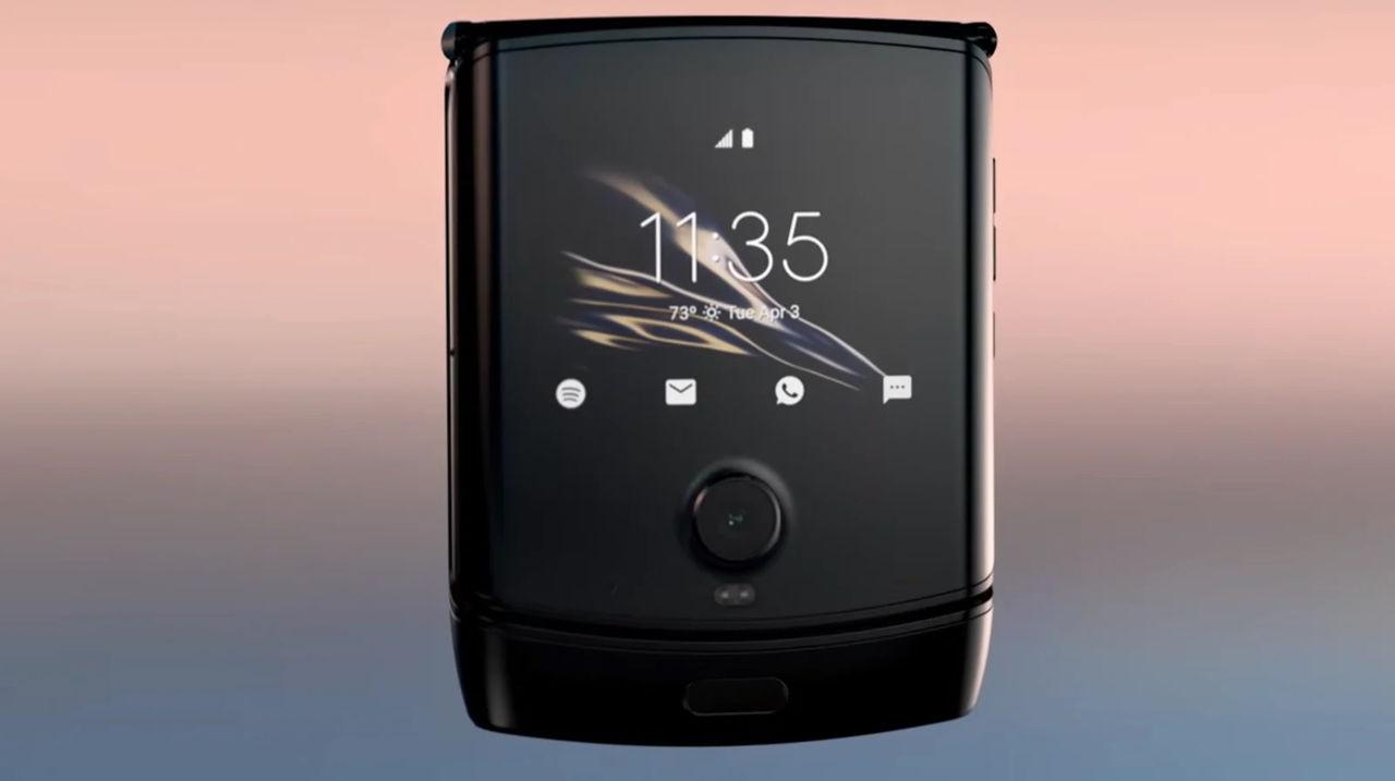 Läcka visar Motorolas nya Razr 5G