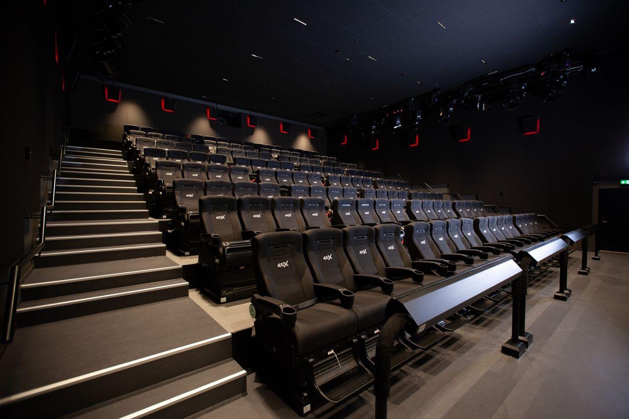Nordisk Film öppnar 4DX-salong i Malmö
